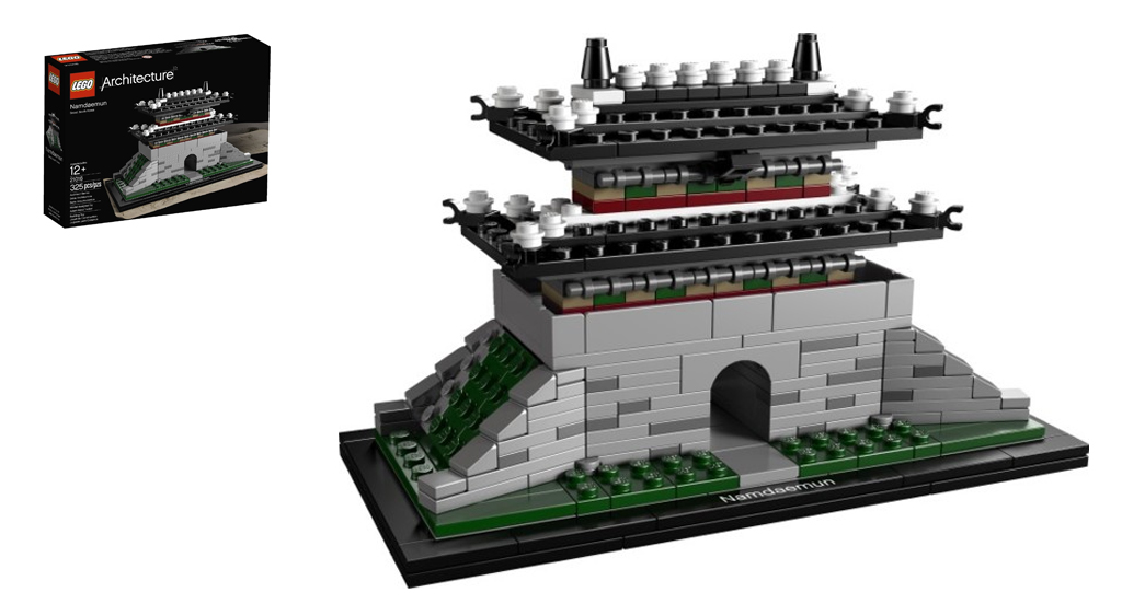 Perfectly Composed of Iconic LEGO Buildings and Architecture Sets, Architectural LEGO Minifigs and Buildings Make for Exquisite Collectibles
